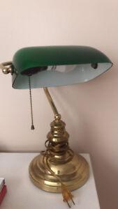 Banker lamp