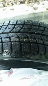 Bridgestone Blizzak 4 winter tires. 205/50/15 Strathcona County Edmonton Area image 3