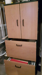 Storage and File Cabinet