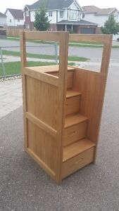 Crate Design Upper Bunk Single Bed and Staircase Kitchener / Waterloo Kitchener Area image 2