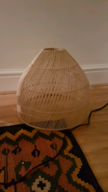 Java lampshade (Made). Never used.