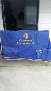 Like new Therapaulse Blanket and Flexneb Nebulizer with case