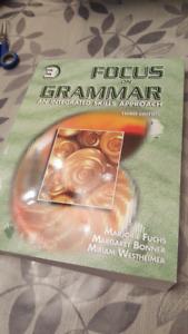 Focus on GRAMMAR an integrated skills approach