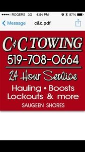 C and C Towing Saugeen Shores