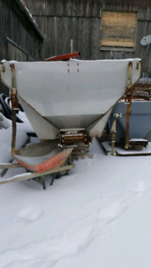 Air flow Salt spreader