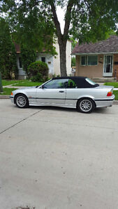 1999 BMW 3-Series silver Convertible