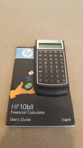 HP 10Bll Financial Calculator