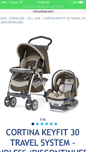 Chiccco Travel system
