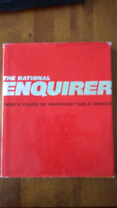 """THE NATIONAL ENQUIRER """"THIRTY YEARS OF UNFORGETTABLE IMAGES"""""""