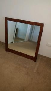 Timber frame mirror