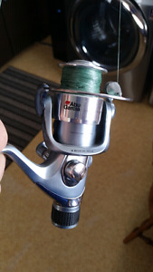 Abu Garcia spinning reel and Ugly Stick lite Fishing rod