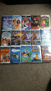 over 50 Children's VHS movies ...want gone today
