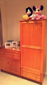 Mothercare Darlington Wardrobe & Dresser