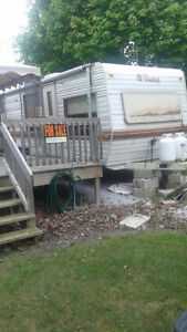 28' Trailer for sale! Lot fees already paid for the year