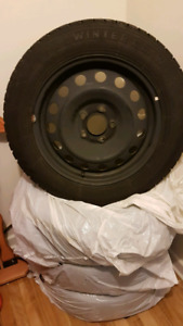 Used Winter Claw 205/60 R16 Tire & Rims