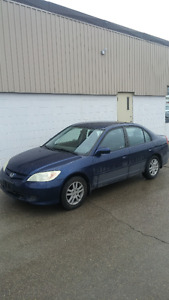 2004 Honda Civic LX-G Sedan, Automatic. Safetied and Emissions.