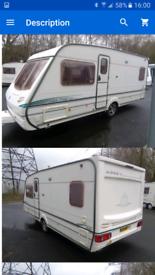 Abbey Vogue GTS 415 (fixed bed) caravan