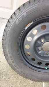 GT Radial Snow Tires w Rims