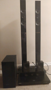 3D Blu Ray Home Theatre System