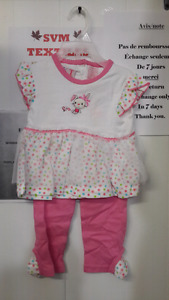 Baby girl 2 pieces set