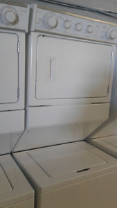 Stackable Stacked (White )Washer & Dryer Front Load