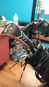 Men's Golf Clubs, Bag and Stand - Salmon Arm