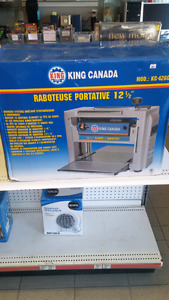 (sold) King Canada 12 1/2 Portable Planer
