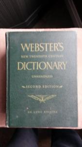 Vintage Webster's Dictionary (Unabridged, Second Edition)