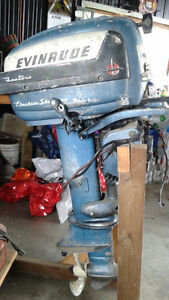 15hp electric start Evinrude.