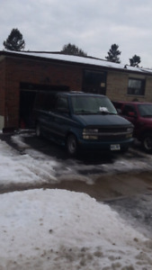 1998 Chev Astro Van As Is