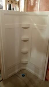 New never used MAAX shower walls
