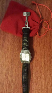 Ladies diamond chronograph watch by Lucien Piccard (OBO sale)