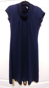 Thyme Maternity Blue Dress - Size S - in EUC