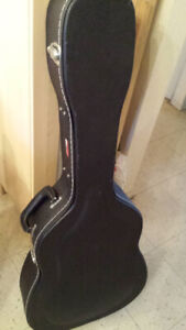 """"""" GATOR """" Hard-Shell Wood Case Acoustic guitare *****"""
