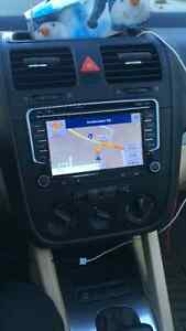 Replace your old vw radio with a full option touch screen one