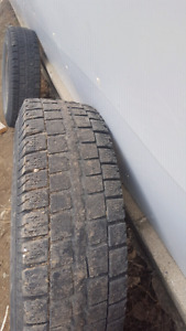 Winter tires used