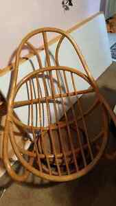 Rattan chair rocker Kitchener / Waterloo Kitchener Area image 1