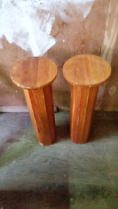 Solid Hardwood Stands