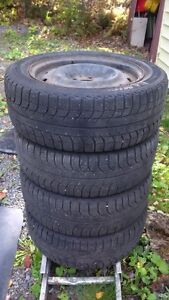 """Michelin Ice"" 16 inch Tires with wheels for sale"