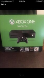 NEW sealed xbox one - 1000gb xbox one limited edition