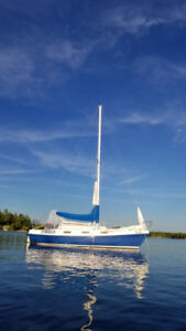 25 foot sailboat Tanzer 7.5