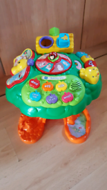 Baby Play & Learn Activity Table