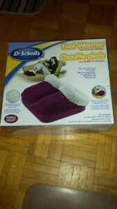 Dr Scholls One Size Fits All Purple Slippers