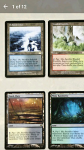 Mtg fetch lands.