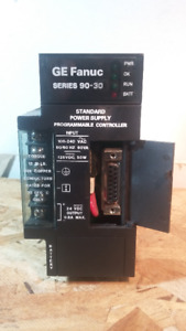GE FANUC SERIES 90 - 30 POWER SUPPLY PROGRAMMABLE CONTROLLER