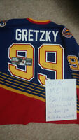 Win a Wayne Gretzky autographed Jersey for only $20!!!