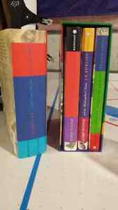 All four Harry Potter books