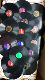 Job Lot of 23 x OLD VINTAGE 78s Records