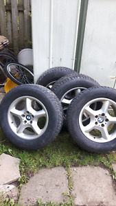 BMW Mags & tire for sale
