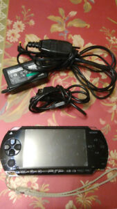 PSP 3000 With Several Games On Memory Card